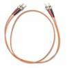SunmaFiber ST to ST Fiber Optic Patch Cable Multimode Duplex, 10m