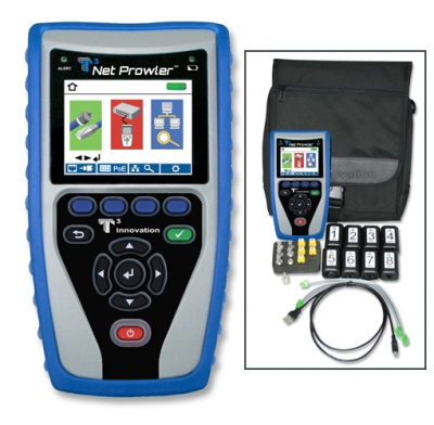 T3 Innovation NP750 Net Prowler Cabling and Network Tester Kit