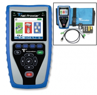 T3 Innovation NP700 Net Prowler Cabling and Network Tester