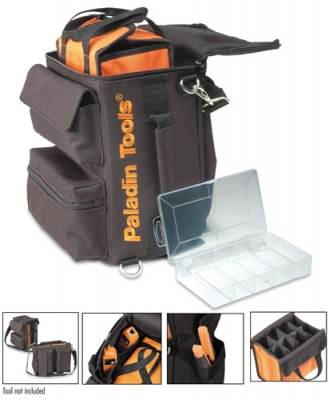 Paladin Tools PA-4923 Ultimate Soft-Sided Tool Bag, 11 x 8.5 x 6