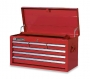 Wright Tool WT2606RD 6-Drawer Tool Cabinet, Top Tool Chest