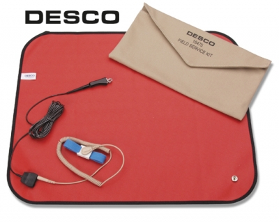 Desco 16475 ESD Field Service Kit with Pouch