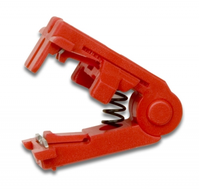Paladin Tools PA-2143 Mini-StripAx Repl Blade - RED, 28-26 AWG