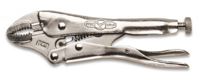 Vise Grip 5-WR Curved Jaw Locking Pliers, 5""