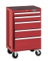 Craftsman Industrial 18393 26'' Wide 5-Drawer Rolling Cabinet