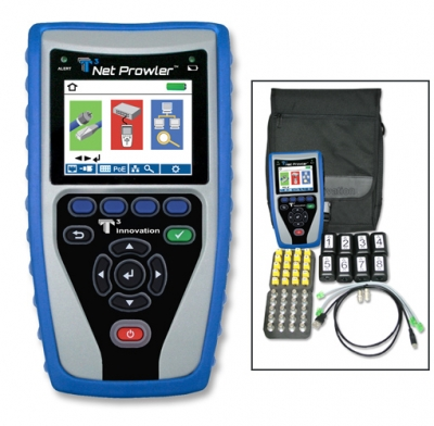 T3 Innovation NP800 Net Prowler Cabling and Network Tester Kit