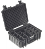 ArmaCase AC5000BD BLACK Watertight Case, DIVIDERS, 17x11.9x6.7